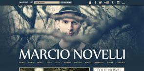Web Design for Musicians   Marcio Novelli