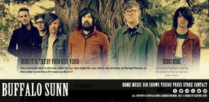 Electric Kiwi - Website Design for Bands   Buffalo Sunn