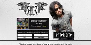 Website Design for Musicians   Rick Rocker
