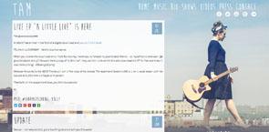WordPress Website Design for Musicians   All Things Tam